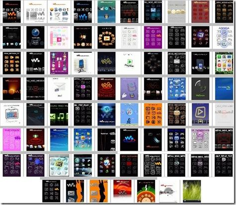 temas para celular sony ericsson w200a